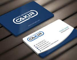 #88 para Design of a Businesscard and a letterhead for the Company CAKIR por Derard