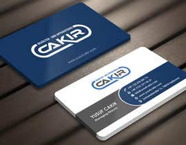 #89 para Design of a Businesscard and a letterhead for the Company CAKIR por Derard