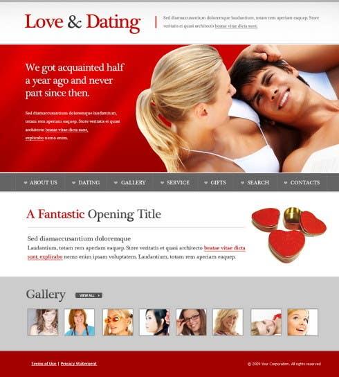 dating website ontwerpen