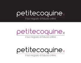 #13 untuk Disegnare un Logo for petitecoquine.it oleh Natrang