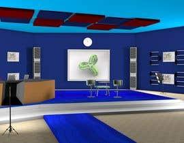 Nro 1 kilpailuun Do some 3D Modelling for virtual set on maxon käyttäjältä modinoart