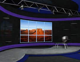 Nro 13 kilpailuun Do some 3D Modelling for virtual set on maxon käyttäjältä modinoart
