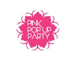 #44 for Design a Logo for PINK pop up Party af HonestDesignerz