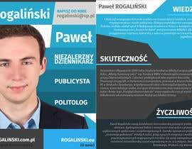 #12 untuk Zaprojektuj ulotkę wyborczą oleh mjendraszczyk