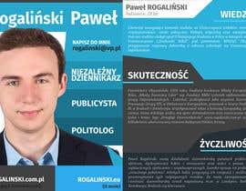 #17 untuk Zaprojektuj ulotkę wyborczą oleh mjendraszczyk