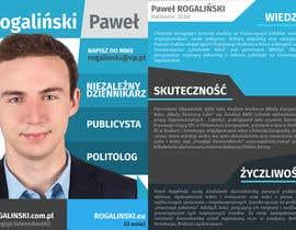 #19 untuk Zaprojektuj ulotkę wyborczą oleh mjendraszczyk