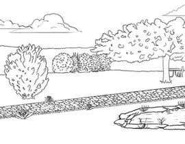 Nro 10 kilpailuun J'ai besoin d'une conception graphique pour réaliser une illustration de jardin käyttäjältä marcokap