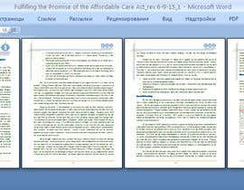 #6 for Design a Whitepaper layout in Microsoft Word format af tatamusha