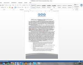 #30 untuk Design a Whitepaper layout in Microsoft Word format oleh DavidBlazevskiM