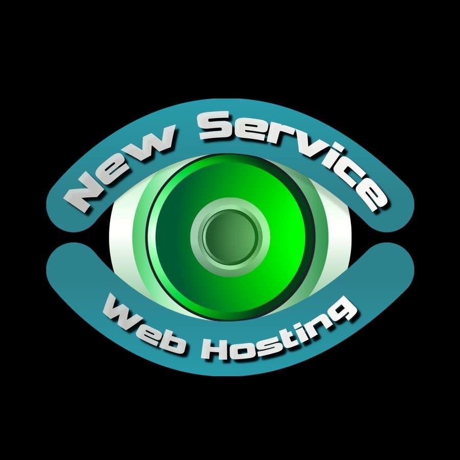 Kilpailutyö #48 kilpailussa Design a Logo for NewServiceWebHost.com