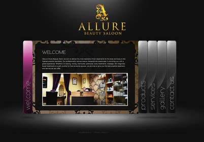 zubidesigner tarafından Design a Logo and favicon for Allure Beauty için no 48