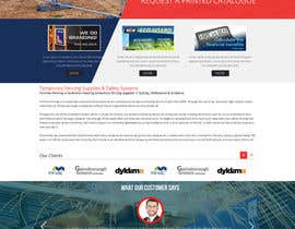 imagineinfotec tarafından Design a Website Mockup for Fortress Fencing Building Homepage için no 27