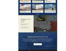 dani786 tarafından Design a Website Mockup for Fortress Fencing Building Homepage için no 11