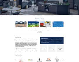 superock tarafından Design a Website Mockup for Fortress Fencing Building Homepage için no 18