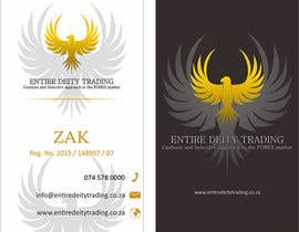 #13 for Design a letterhead and business cards for a Forex trading company af purnawarman08