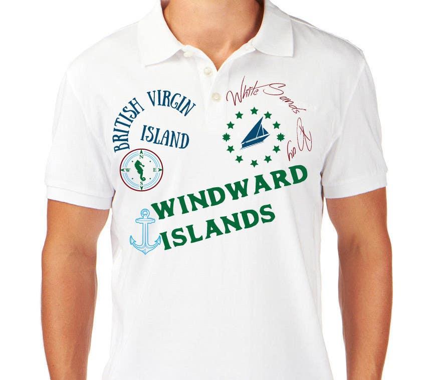 Inscrição nº 15 do Concurso para Design a T-Shirt with a sailing theme