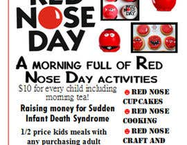 #14 for Red Nose Day Fundraising Flyer by Todd999