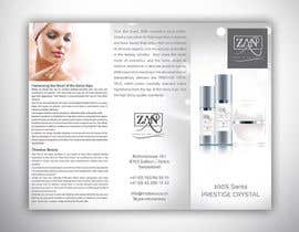 #25 cho Разработка брошюры for luxury cosmetic products made in Swiss bởi abhikreationz