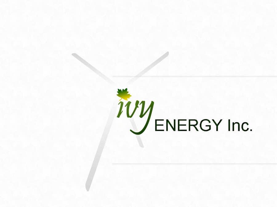 Inscrição nº                                         134                                      do Concurso para                                         Logo Design for Ivy Energy