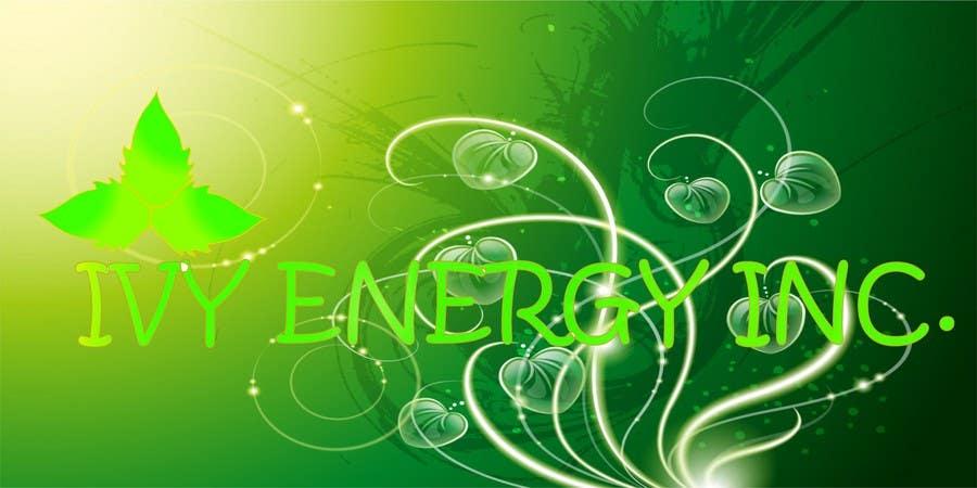 Inscrição nº                                         179                                      do Concurso para                                         Logo Design for Ivy Energy