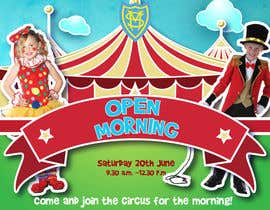 kikaaveiro tarafından Design a Flyer for circus open morning için no 11