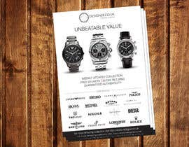 #16 for Design a Flyer for a luxury watch store by dinesh0805