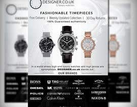 #32 for Design a Flyer for a luxury watch store by adidoank123