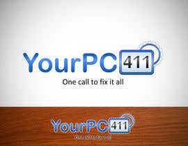 "#7 untuk Design a Logo for ""Your PC 411"" oleh daam"