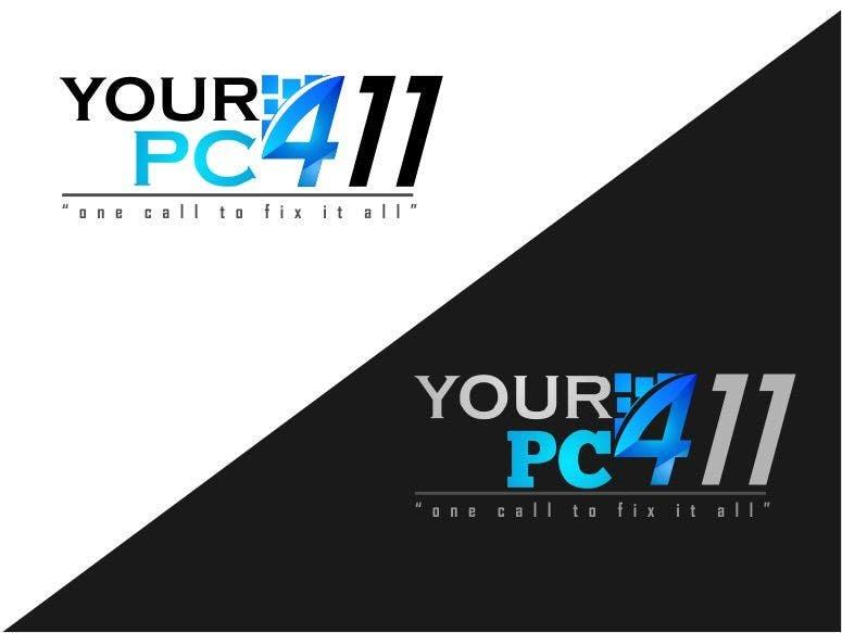 """Kilpailutyö #31 kilpailussa Design a Logo for """"Your PC 411"""""""