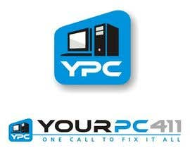 "#38 untuk Design a Logo for ""Your PC 411"" oleh machetar"