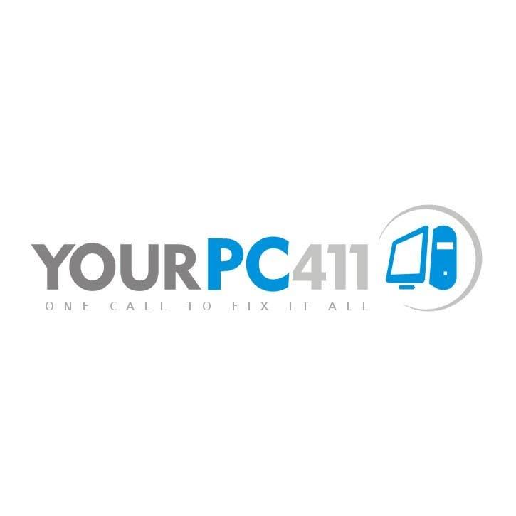 """Kilpailutyö #42 kilpailussa Design a Logo for """"Your PC 411"""""""