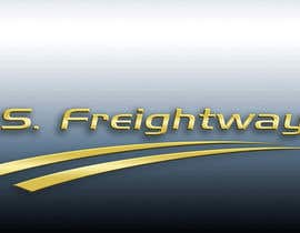 #209 para Logo Design for U.S. Freightways, Inc. por alfonxo23