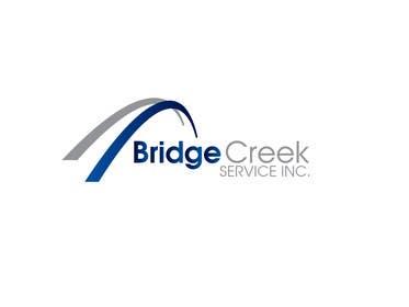 Nro 89 kilpailuun Bridge Creek Services Logo käyttäjältä Graphicsuite