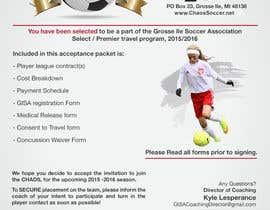 intentiographiko tarafından Edit a Flyer for Soccer Tryout için no 4