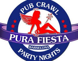 #25 para Design a Logo for Pub crawl, group party por RostykG