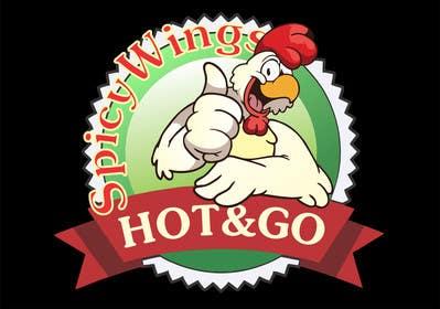 Nro 1 kilpailuun Diseñar un logotipo for: Spicy Wings HOT & GO käyttäjältä petariliev