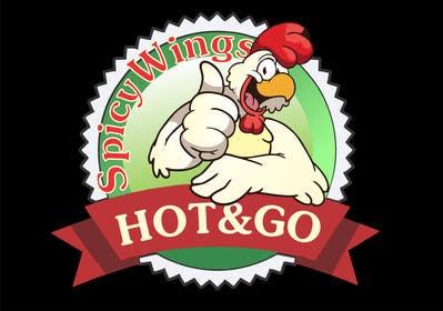Nro 2 kilpailuun Diseñar un logotipo for: Spicy Wings HOT & GO käyttäjältä petariliev