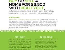 Nro 42 kilpailuun Design an Advertisement for RealtyCut käyttäjältä visualoutline