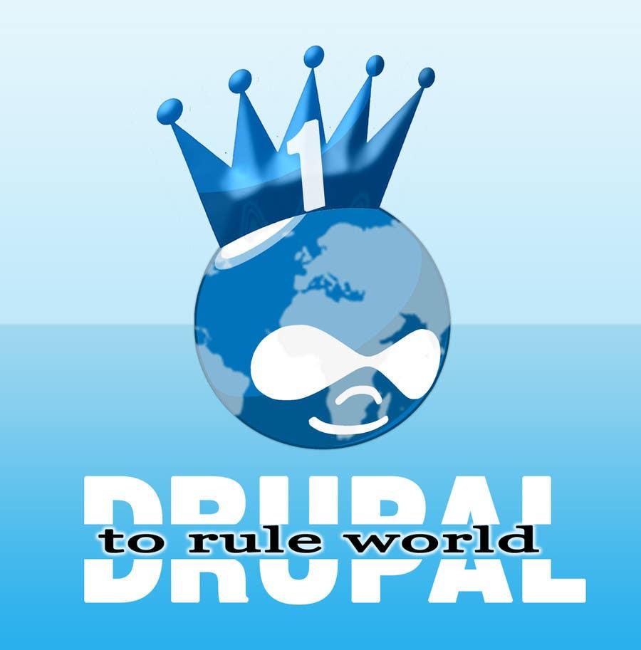 Penyertaan Peraduan #13 untuk Design a Logo for Drupal Project [One]
