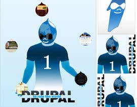 nº 16 pour Design a Logo for Drupal Project [One] par bvsk3003