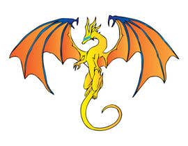 #130 untuk Draw Friendly Dragon Character and logo oleh freelancershoura