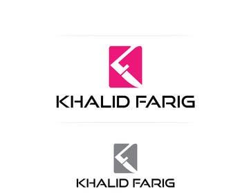 feroznadeem01 tarafından Design a Logo for my name khalid farig için no 31