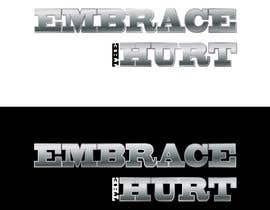 Nro 76 kilpailuun Embrace The Hurt- Logo Design käyttäjältä vasked71