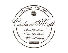 "#21 para I need some Graphic Design for a product label ""Cashew Mylk"" por veranika2100"