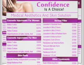 #7 untuk Design a Flyer for aesthetic clinic -- 2 oleh adidoank123