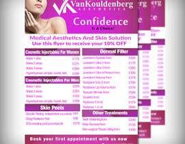 #8 untuk Design a Flyer for aesthetic clinic -- 2 oleh adidoank123