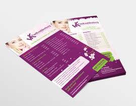 Nro 6 kilpailuun Design a Flyer for aesthetic clinic -- 2 käyttäjältä batia