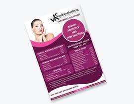 Nro 14 kilpailuun Design a Flyer for aesthetic clinic -- 2 käyttäjältä ms471992