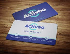 #81 untuk Design some Business Cards for Activeo oleh anikush