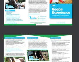 #11 para Brochure for Horse therapy company por HebaWadud